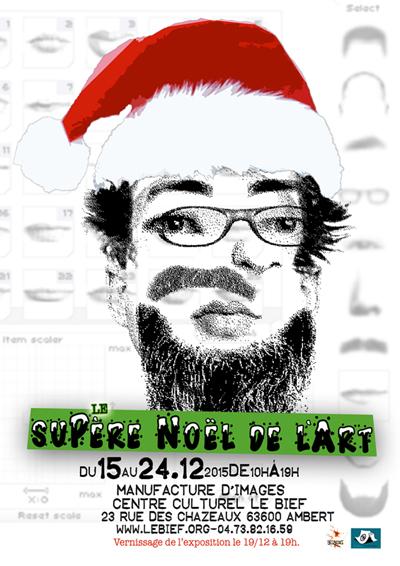 Le supère Noël de l'art