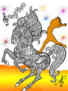 Quand la danse et la musique rencontrent les poneys