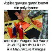 atelier polystyrene morgane