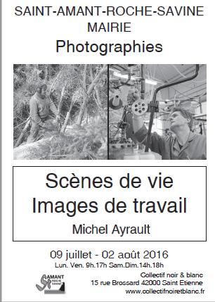 """Exposition  """"Scènes de vie, Images de travail """" photographies Collectif Noir et Blanc"""