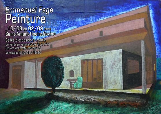 "Emmanuel Fage  ""Peinture"""
