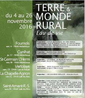 Terre et Monde Rural et le mois du film documentaire