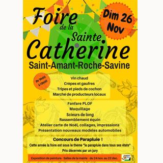 FOIRE DE LA SAINTE CATHERINE