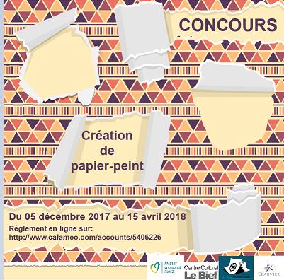 Un concours de création de papier-peint