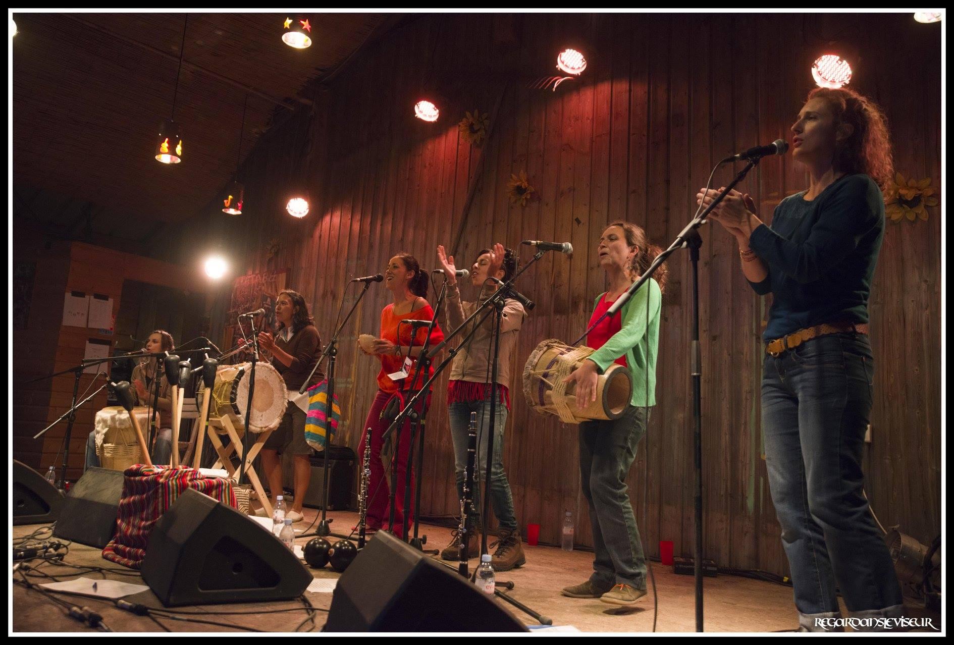 Valientes Gracias - Musique Afro-colombienne festive et percutante - Concert au Colibri