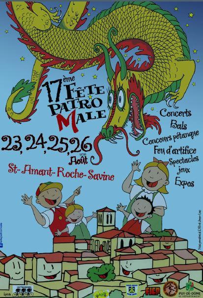Fête PatroMâle de St Amant Roche Savine