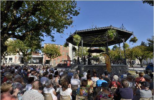 Festival de la Chaise-Dieu  Musique au kiosque