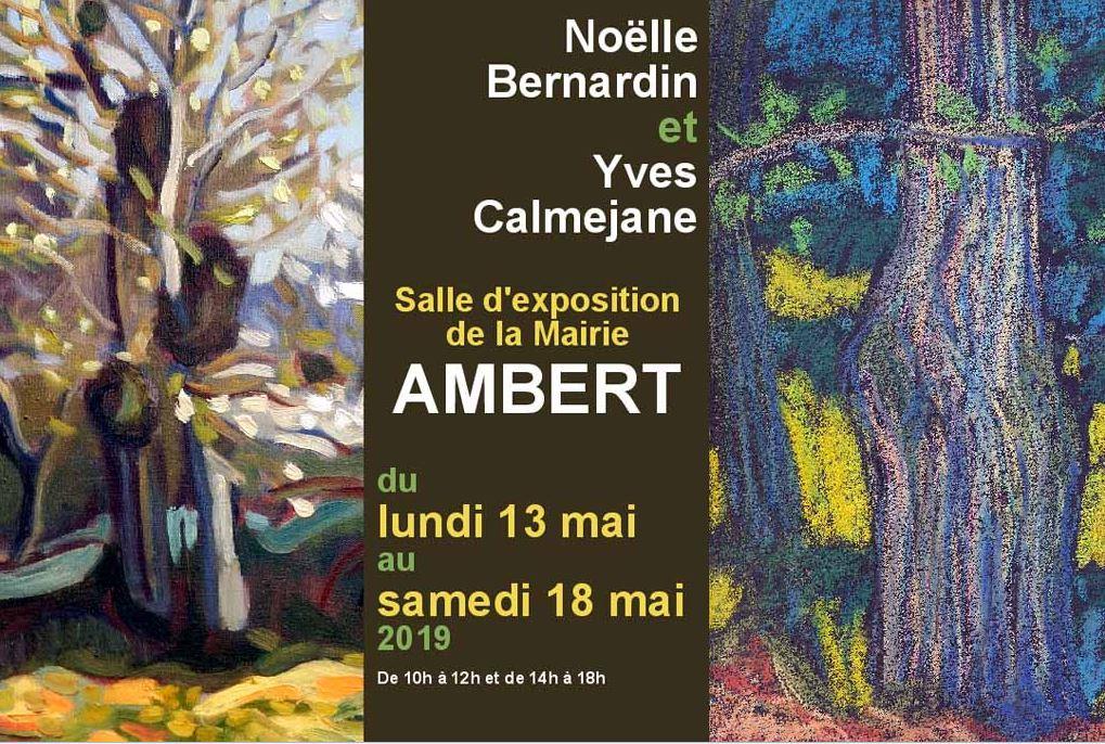 Yves Calméjane et Noëlle Bernardin