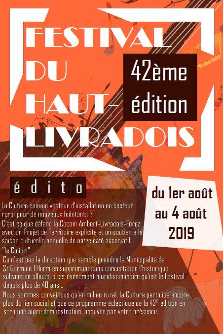 Festival du Haut Livradois